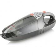 Aspirator de mana 2 in 1 Tristar KR-3178, acumulator reincarcabil, adaptor 220V si auto 12V, aspirare umeda si uscata, 68 dB, volum 0.55 L, filtru lavabil, suport montare pe perete, Negru/Argintiu
