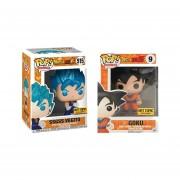 Vegito y Goku Hot topic exclusivo Funko pop Dragon Ball