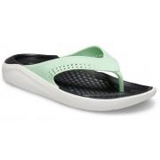 Crocs LiteRide™ TeenSlippers Unisex Neo Mint / Almost White 42