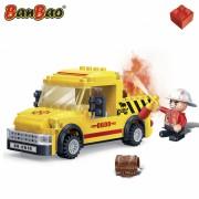 Set constructie Camion mic pompieri, Banbao