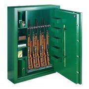 Rottner fegyverszekrény Mabisz D kategória Sport Premium N6 mechanikus zárral krómzöld