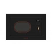 Cuptor cu microunde incorporabil BM201INB, 800 W, 20 l, Negru