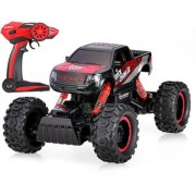 Emob Monster Pickup Truck Racing Rally Off-Road 4 Wheel Rechargeable Remote Control Rock Crawler Car with High Strength