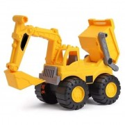 Morgan Sellers 2 in 1 BIG Size Construction Toy JCB and Dumper Truck for Kids