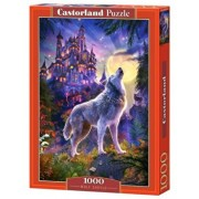 Puzzle Lupul de la castel, 1000 piese