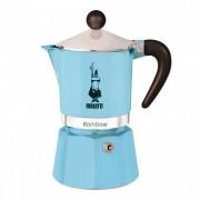 """Espressokocher Bialetti """"Moka Rainbow 3-cup Light Blue"""""""