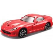 Modelauto Dodge Viper GTS SRT 2013 rood 1:43 - speelgoed auto schaalmodel