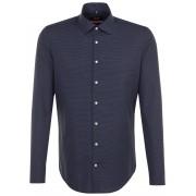 Seidensticker Overhemd Dobby Business Kent Navy / male