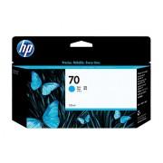 HP 70 Cyan Ink Cartridge, 130-ml (C9452A)