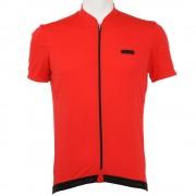 【セール実施中】【送料無料】ROSSO JERSEY メンズ 男性用 半袖ジャージ シャツ 自転車ウエア 0226534100-17SS RED