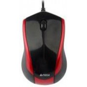 Mouse A4Tech Optic N-400 (Negru-rosu)