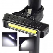 Lampara Luz Delantera Bicicleta Recargable Usb Super Brillante * BYTESHOP