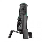 Trust Gaming GXT 258 Fyru Micrófono de calidad superior para streaming con 4 patrones de grabación