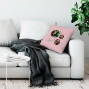 YourSurprise Liefdeskussen - 50x60cm - Roze - Ongevuld
