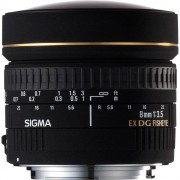 Sigma 8mm f/3.5 EX DG ojo de pez circular para Nikon
