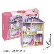 Puzzle 3D CubicFun CBF6 Little Artists Dollhouse