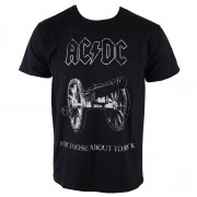 tricou stil metal bărbați AC-DC - About To Rock - ROCK OFF - ACDCTS06MB