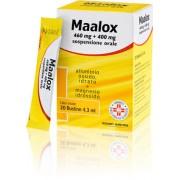Sanofi Spa Maalox 460 Mg + 400 Mg Sospensione Orale 20 Bustine In Petp/Al/Pe Da 4,3 Ml