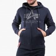 Pulover pentru bărbați Alpha Industries Basic Zip Hoody 178325 07