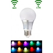 LED E27 Bulb - 5W - RGB/Warm wit