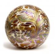 Grote Glazen Bal Dieren Urn Elan Gold (4 liter)