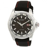 Citizen Eco-Drive Analog Black Dial Mens Watch BM6745-08E