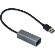 Adapter i-tec USB 3.0 Metal Gigabit Ethernet 1x USB 3.0 do RJ-45 10/100/1000 Mbps LED