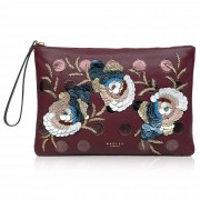 Radley London Pouch in pelle Embellished con ricami