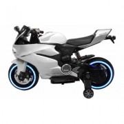 Tron Motorcycle 12V White Kids Ride on toys