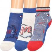 Tommy Hilfiger 3-Pack - Skarpety Dziecięce - 395005001 085