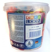 Karaloon 250-Water Bombs Bucket (Assortment) by ToyCentre