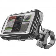 Suport De Telefon Pentru Bicicleta Cu Husa Touchscreen Cellularline