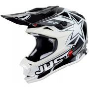 Just1 J32 Pro MotoX Motocross Helmet White M