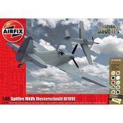 Airfix 1:48 Supermarine Spitfire Mk.Vb/Messerschmitt Bf109E Gift Set ()