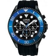 Lorus Sport Reloj analógico de cuarzo para hombre con pulsera de silicona