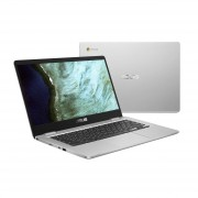 Asus chromebook C423NA-EB0050 zilver