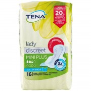 Essity Italy Spa Tena Lady Discreet Mini Plus Wings Assorbenti 16 Pezzi