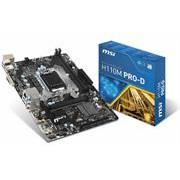 Msi H110M Pro D Socket LGA 1151 Micro ATX