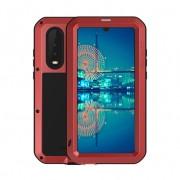 LOVE MEI Shockproof Dropproof Dustproof Case for Huawei P30 - Red