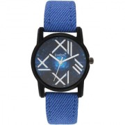 Evelyn Analogue Blue colour Dial Blue Strap Girls Watches-Eve-667