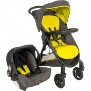 Graco carucior 2in1 FastAction Fold 2.0 TS pentru 0m+ Sport Lime