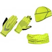GripGrab Hi-Vis Running Essentials Huvudbonad gul L 2019 Huvudbonader