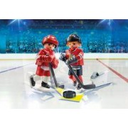 Playmobil NHL Blister Detroit Red Wings vs Chicago Blackhawks