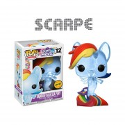 Funko Pop Rainbow Dash Sea Pony Chase My Little Pony Glitter