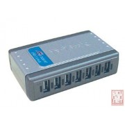 D-Link DUB-H7, Hi-Speed USB 2.0 7-Port Hub, black, revision B1