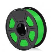 Filament 3D PLA verde deschis ordonat