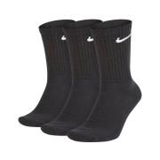 Nike SX7664.010 3 Pack sportsokken - Zwart - Size: 42