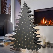 Tree decorative light Blacky height 94 cm