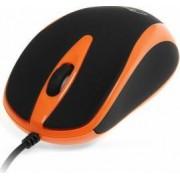 Mouse Media Tech MT1091O optic 800dpi USB Negru-Portocaliu