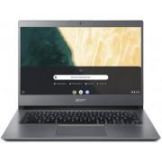 "Ultrabook Acer Chromebook 714 CB714-1W (Procesor Intel® Core™ i5-8350U (6M Cache, up to 3.60 GHz), Kaby Lake R, 14"" FHD, 8GB, 128GB eMMC, Intel® UHD Graphics 620, FPR, Chrome OS, Gri)"
